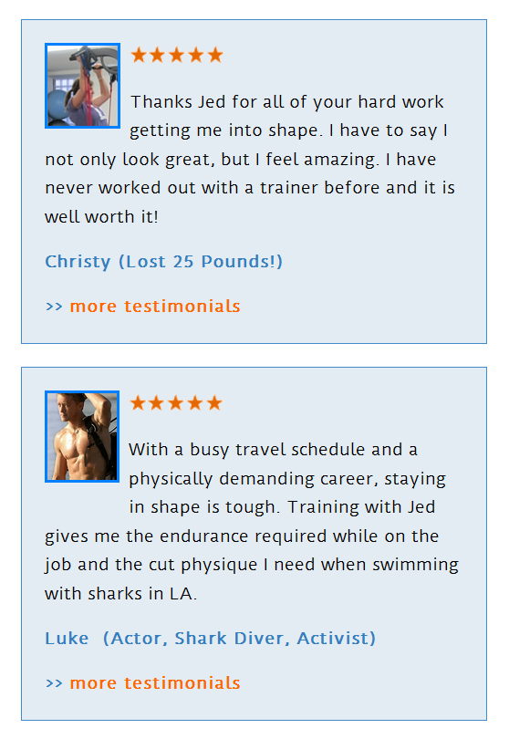 Long Beach Personal Trainers Reviews
