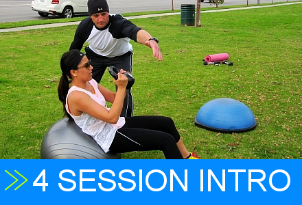 Personal Trainer Long Beach CA Intro Pack