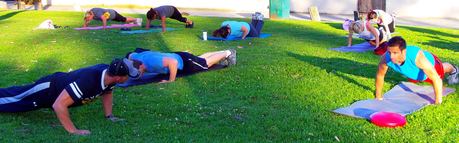 Long Beach CA Group Exercise - Group Training