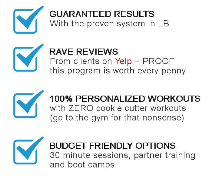 Personal Trainer Long Beach CA Advantages