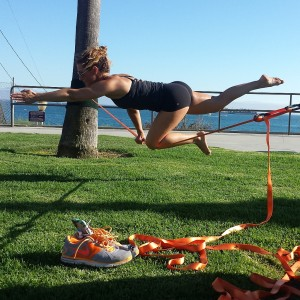 Long Beach CA Slacklining