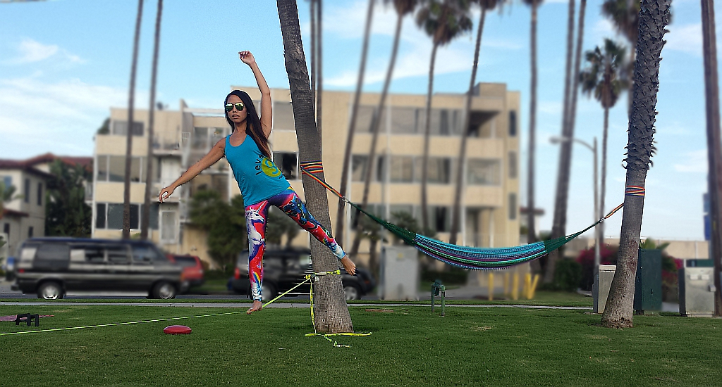 Slacklining Long Beach CA