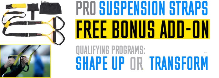 Personal Trainer Straps Bonus Offer