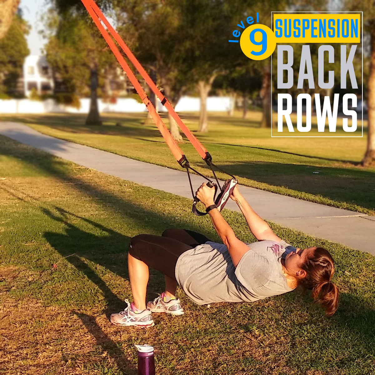 TRX Suspension Training Rows