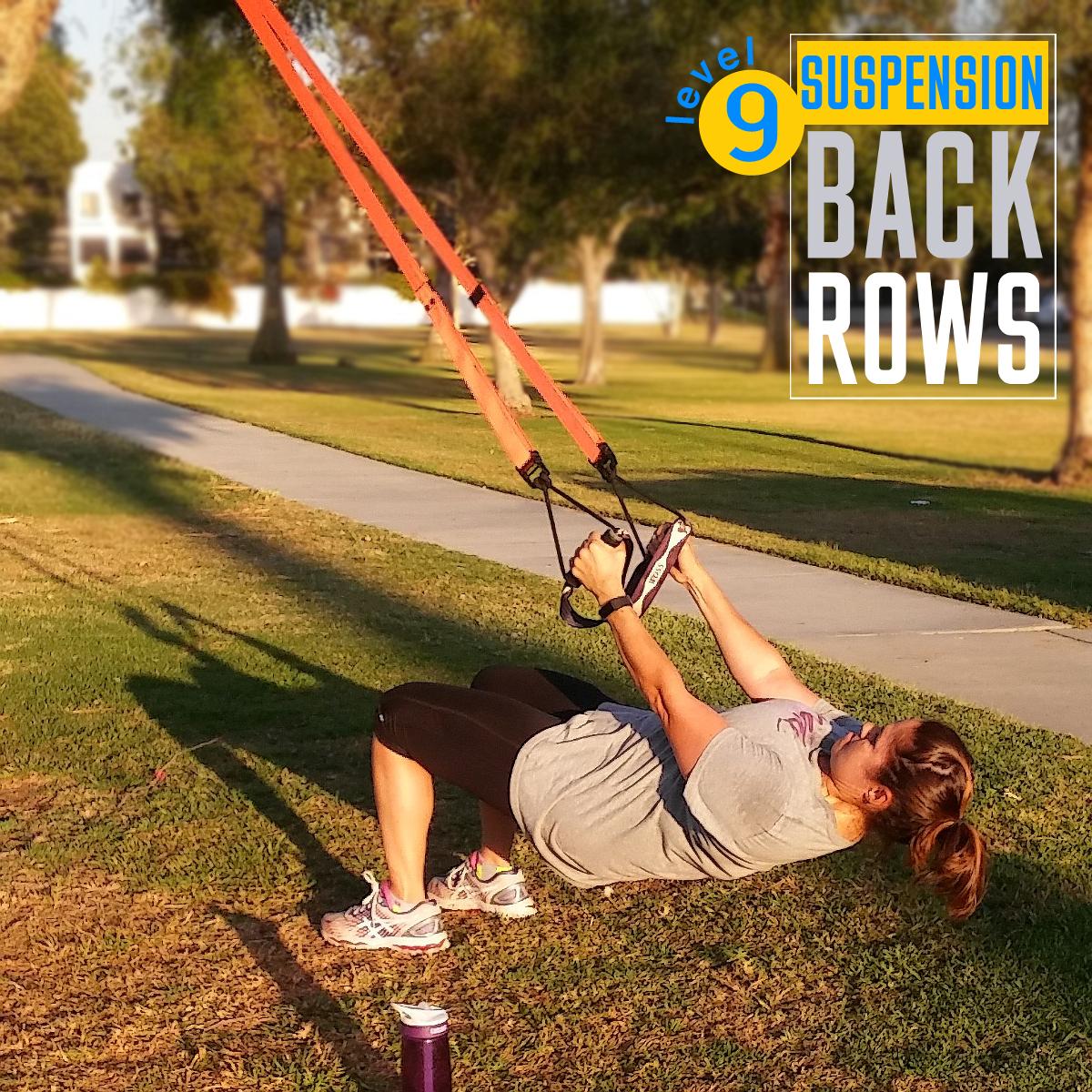TRX Suspension Training Rows
