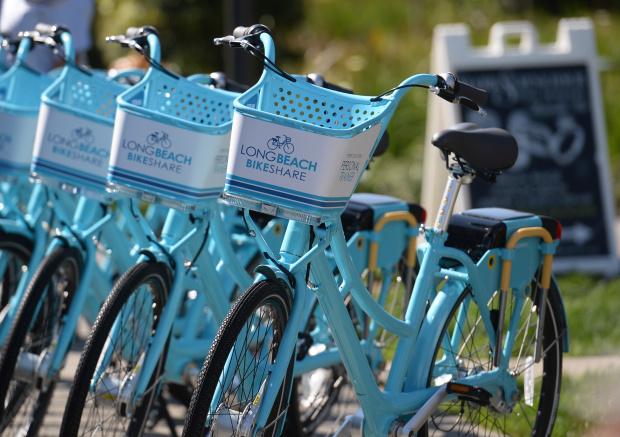 Long Beach CA Bike Share