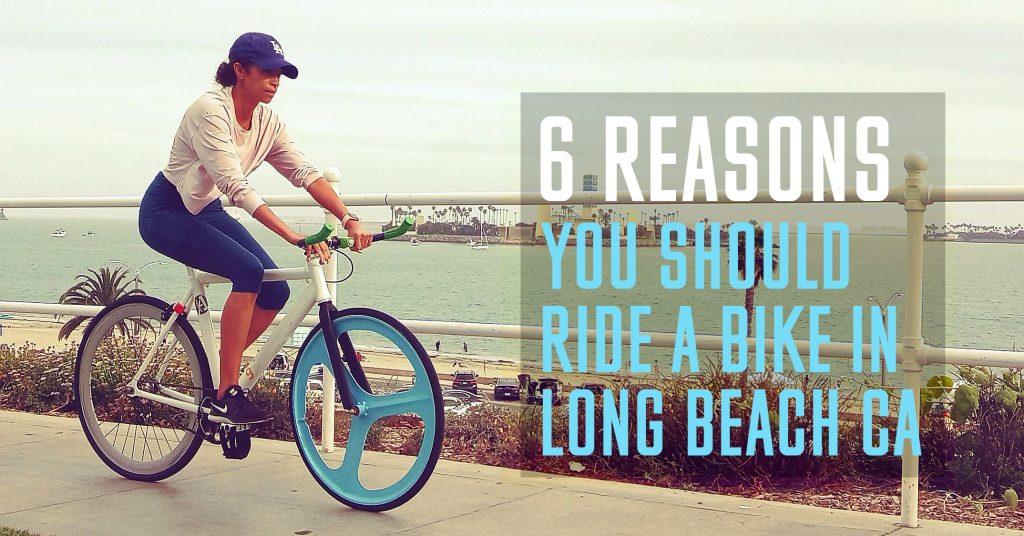 Ride a Bike in Long Beach CA